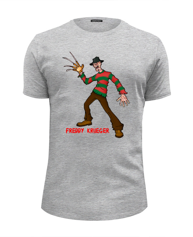 Футболка Wearcraft Premium Slim Fit Printio Freddy krueger футболка wearcraft premium printio freddy krueger 8 bit