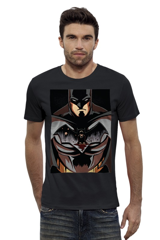 Футболка Wearcraft Premium Slim Fit Printio Batman / бэтмен футболка wearcraft premium slim fit printio бэтмен batman