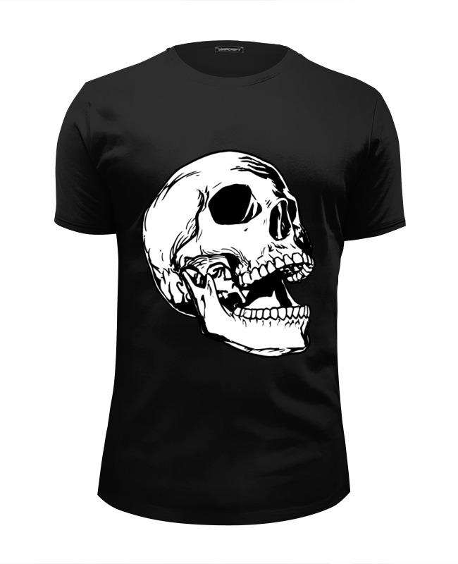 Футболка Wearcraft Premium Slim Fit Printio череп белый футболка wearcraft premium slim fit printio череп