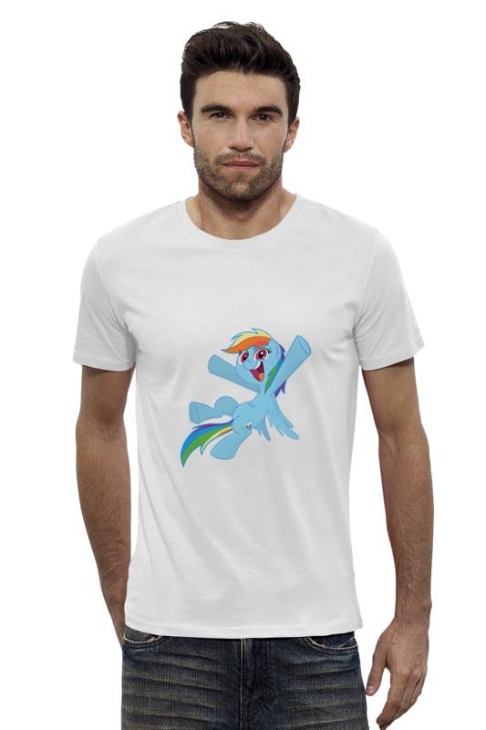 Футболка Wearcraft Premium Slim Fit Printio My little pony- rainbow dash футболка wearcraft premium slim fit printio my little pony