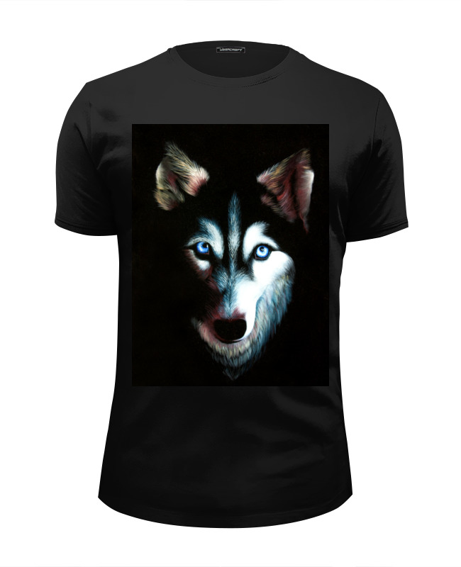 Футболка Wearcraft Premium Slim Fit Printio Husky