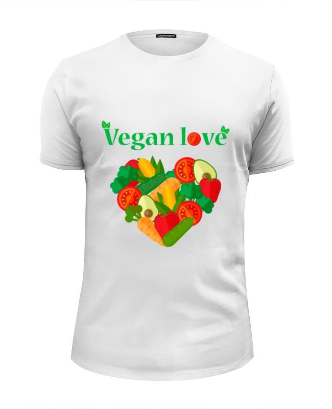 Футболка Wearcraft Premium Slim Fit Printio Vegan love футболка wearcraft premium slim fit printio i love ny