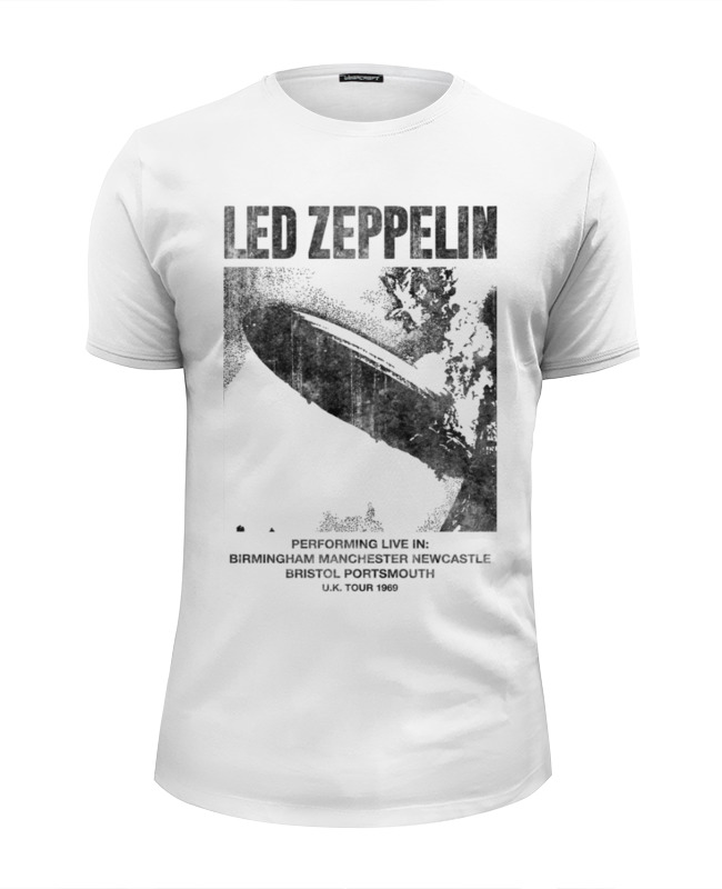 Футболка Wearcraft Premium Slim Fit Printio Led zeppelin виниловая пластинка led zeppelin led zeppelin 3lp