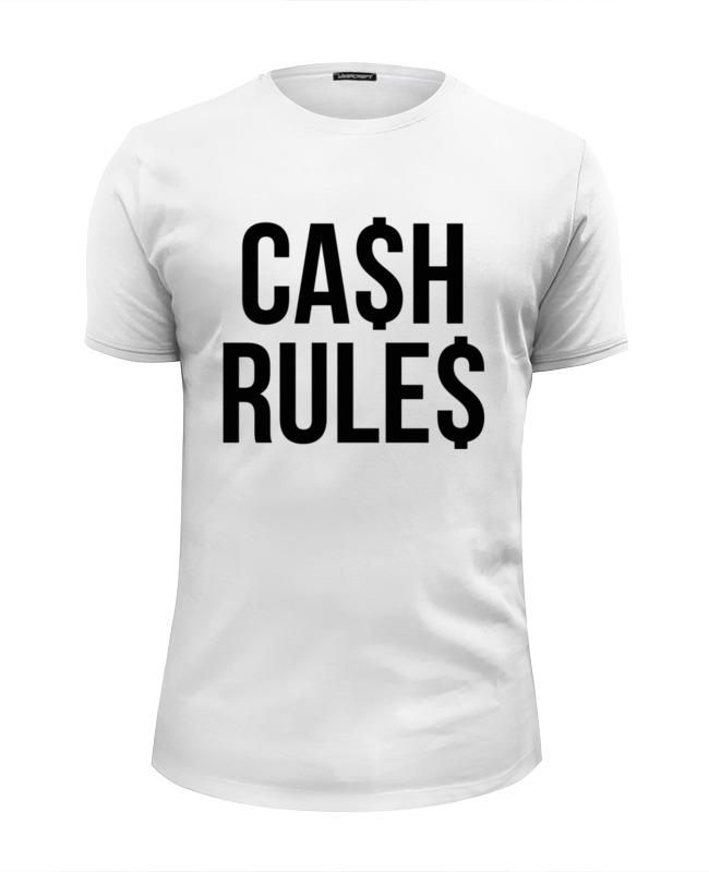 Футболка Wearcraft Premium Slim Fit Printio Наличные (cash) palmer cash футболка