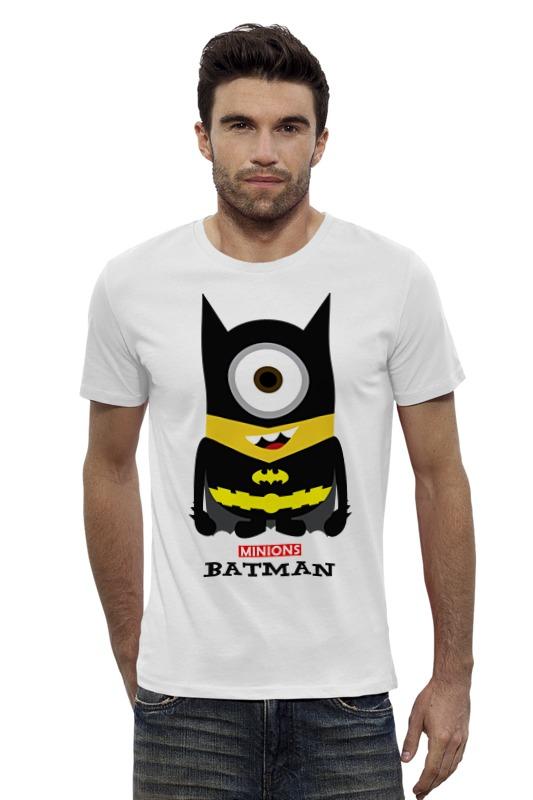 Футболка Wearcraft Premium Slim Fit Printio Minion batman футболка wearcraft premium slim fit printio ice king x batman