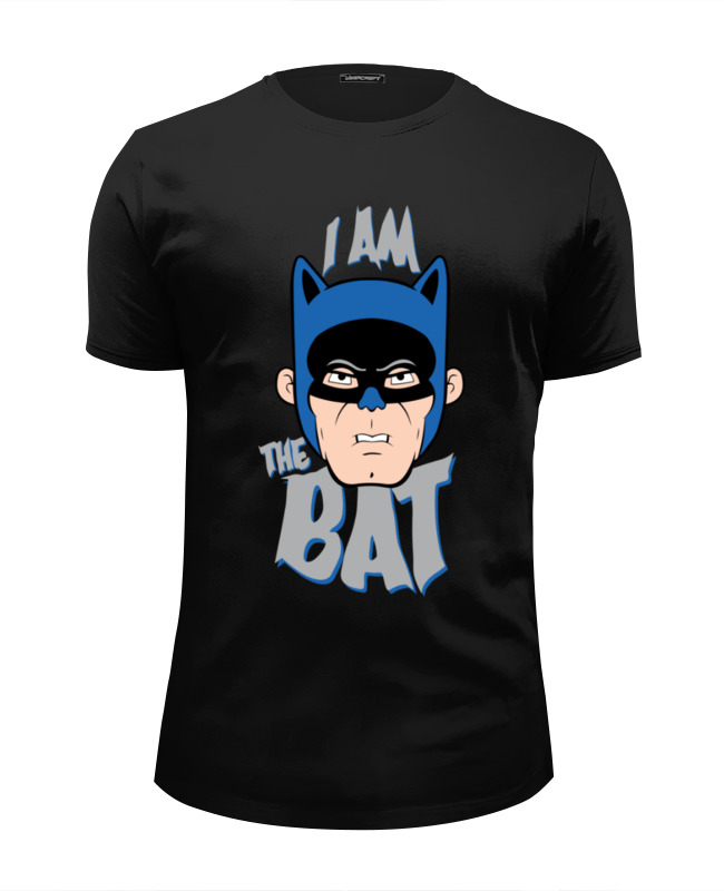 все цены на Футболка Wearcraft Premium Slim Fit Printio I am the bat