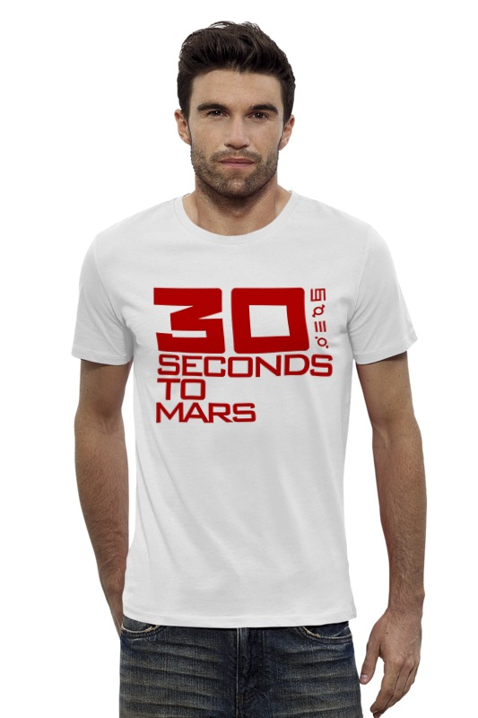 Футболка Wearcraft Premium Slim Fit Printio 30 seconds to mars футболка стрэйч printio city of angels 30 seconds to mars