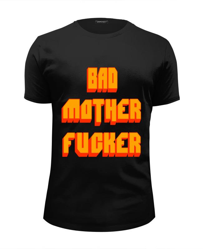 Футболка Wearcraft Premium Slim Fit Printio Bad mother fucker футболка wearcraft premium slim fit printio bad mother fucker