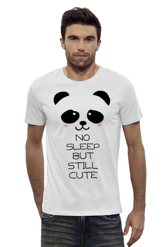 Футболка Wearcraft Premium Slim Fit Printio Панда футболка wearcraft premium slim fit printio рыбка