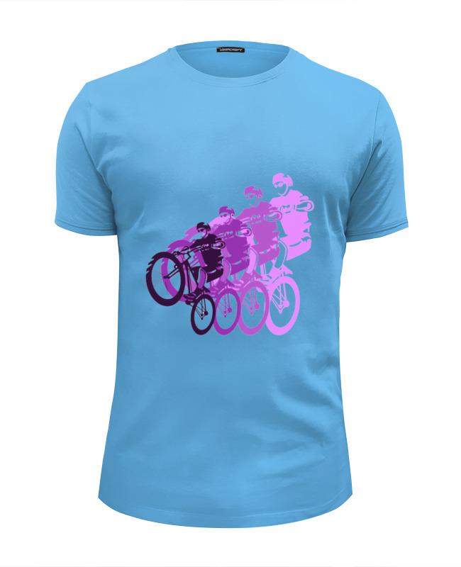 Футболка Wearcraft Premium Slim Fit Printio Велосипедисты футболка wearcraft premium printio велосипедисты