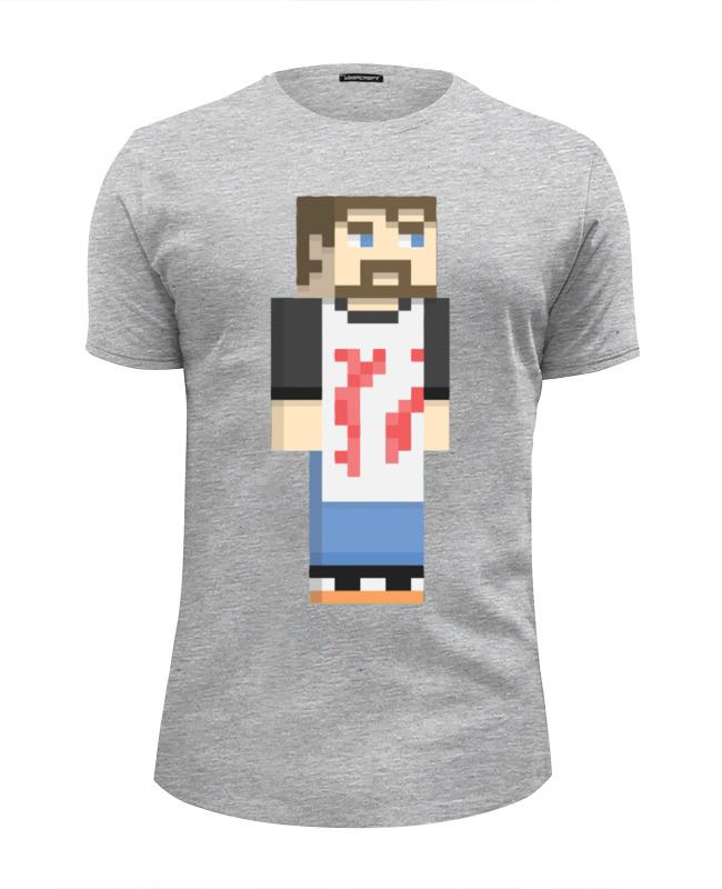 Футболка Wearcraft Premium Slim Fit Printio Винтаж биф (майнкрафт) футболка wearcraft premium slim fit printio like a boss майнкрафт