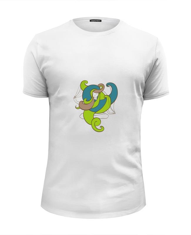 Футболка Wearcraft Premium Slim Fit Printio Йога девушка футболка wearcraft premium slim fit printio муравьед с цветами