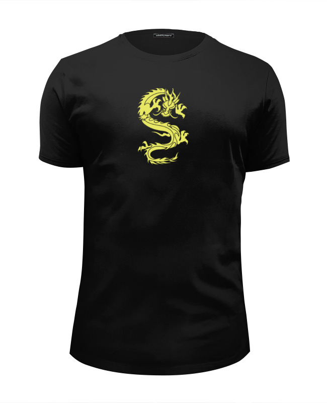 Футболка Wearcraft Premium Slim Fit Printio Дракон футболка wearcraft premium printio китайский дракон
