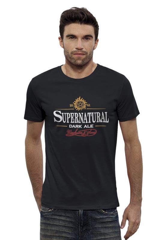 Футболка Wearcraft Premium Slim Fit Printio Supernatural dark ale футболка wearcraft premium slim fit printio винчестер supernatural