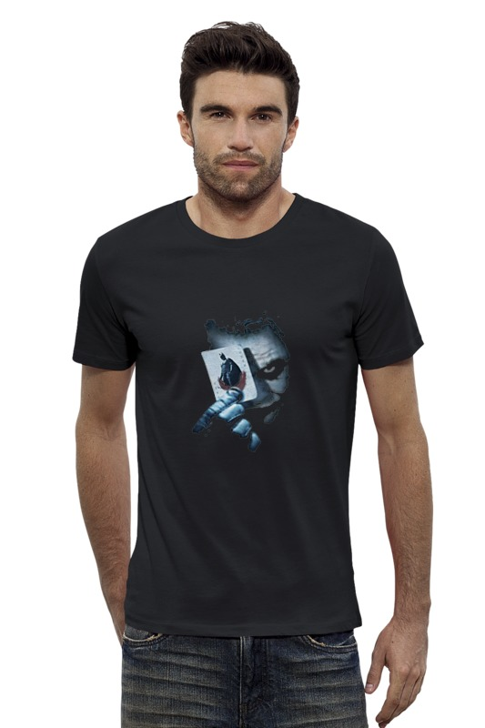 Футболка Wearcraft Premium Slim Fit Printio Джокер костюм озорного клоуна детский 32 34