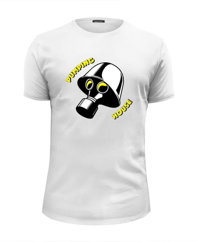 Футболка Wearcraft Premium Slim Fit Printio Pumping house #1 футболка wearcraft premium slim fit printio pumping iron