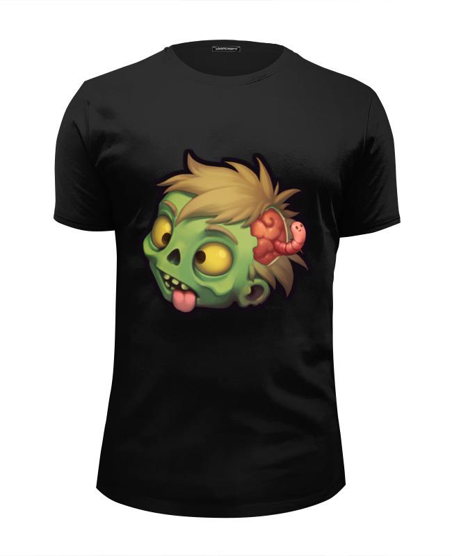 Футболка Wearcraft Premium Slim Fit Printio Zombie лонгслив printio рука зомби zombie hand