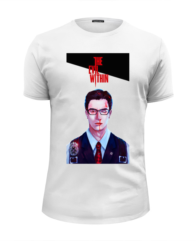 Футболка Wearcraft Premium Slim Fit Printio The evil within футболка evil dead