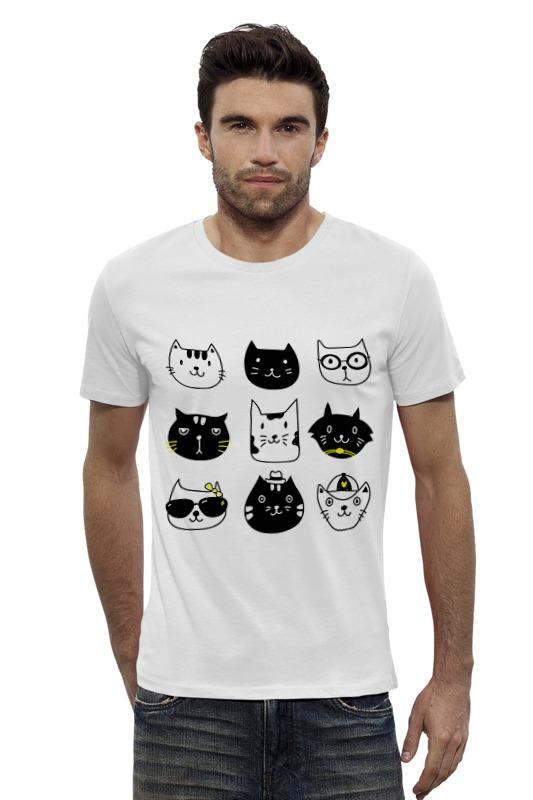 Футболка Wearcraft Premium Slim Fit Printio Милые котики
