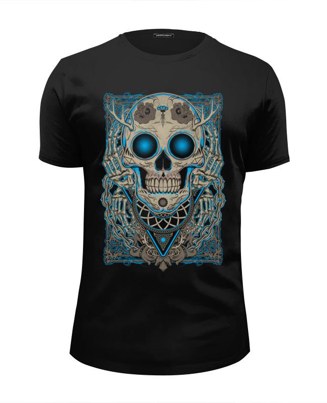 Printio Череп футболка wearcraft premium slim fit printio королевский череп