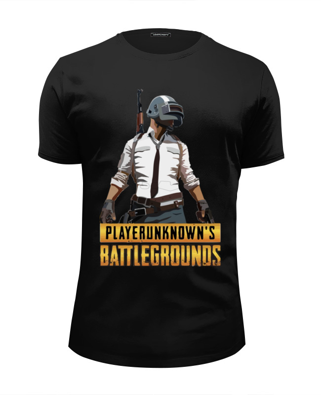Футболка Wearcraft Premium Slim Fit Printio Playerunknowns battlegrounds 5pcs takerlama game playerunknowns battleground 3d keychain special forces pubg level 3 helmet pan zinc alloy keyring set e