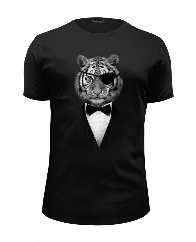 Футболка Wearcraft Premium Slim Fit Printio Одноглазый тигр футболка wearcraft premium slim fit printio марио тигр