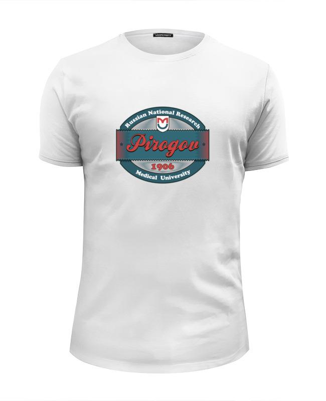 Футболка Wearcraft Premium Slim Fit Printio Футболка женская ргму пирогова футболка wearcraft premium printio ргму пирогова