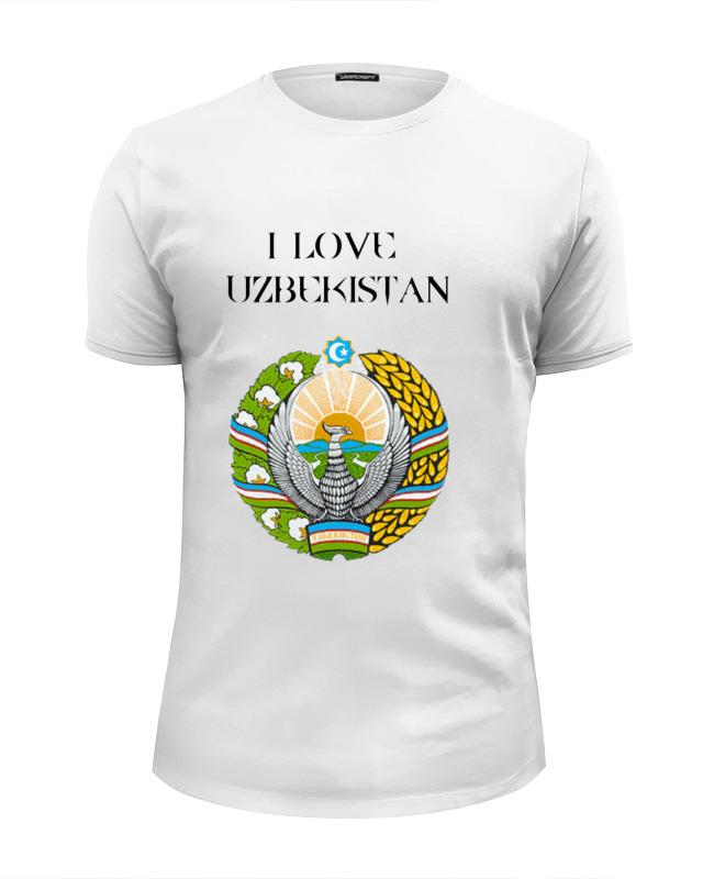 Футболка Wearcraft Premium Slim Fit Printio Uzbekistan футболка классическая printio uzbekistan