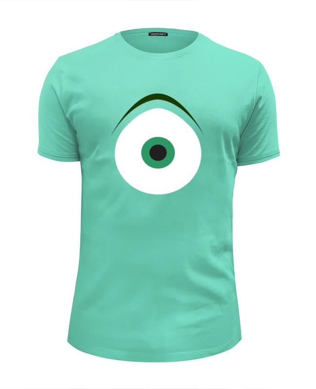 Футболка Wearcraft Premium Slim Fit Printio Майк вазовский (корпорация монстров) футболка wearcraft premium slim fit printio корпорация монстров monsters inc