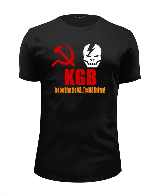 Футболка Wearcraft Premium Slim Fit Printio Kgb russia футболка wearcraft premium slim fit printio russia rule типа стрэйч