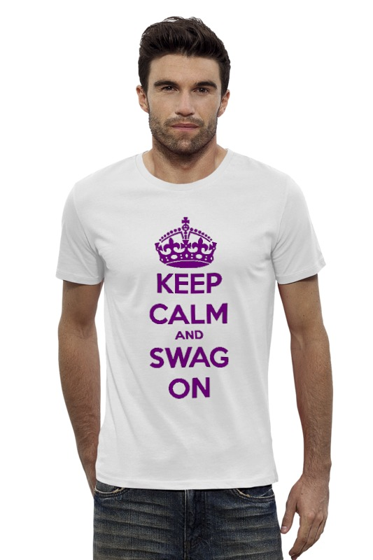 Футболка Wearcraft Premium Slim Fit Printio Keep calm футболка wearcraft premium slim fit printio keep calm
