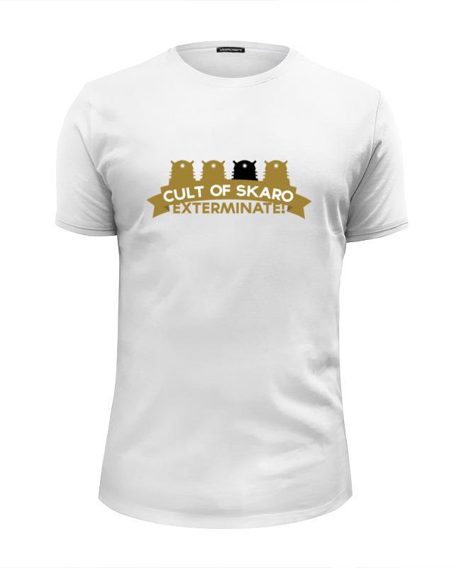 Футболка Wearcraft Premium Slim Fit Printio Футболка мужская cult of skaro футболка классическая printio футболка мужская cult of skaro