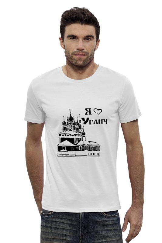 Футболка Wearcraft Premium Slim Fit Printio Я люблю углич футболка wearcraft premium slim fit printio я люблю мир