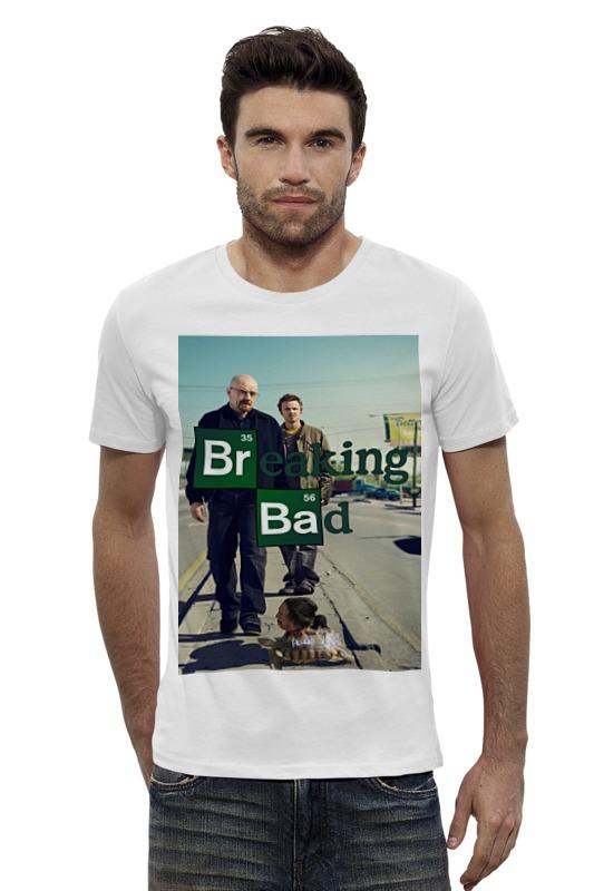 Футболка Wearcraft Premium Slim Fit Printio Breaking bad / во все тяжкие футболка wearcraft premium slim fit printio god of meth breaking bad