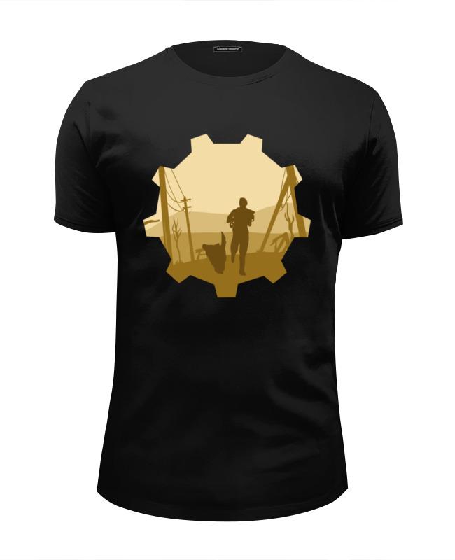 Футболка Wearcraft Premium Slim Fit Printio Vault-tec (fallout) футболка wearcraft premium slim fit printio fallout vault shelter