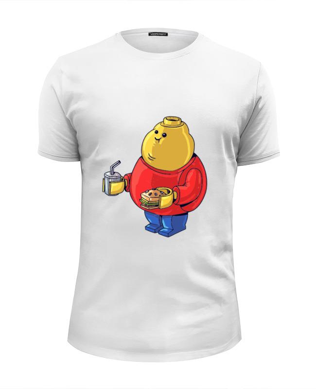 Футболка Wearcraft Premium Slim Fit Printio Fat legoman футболка wearcraft premium printio fat finn