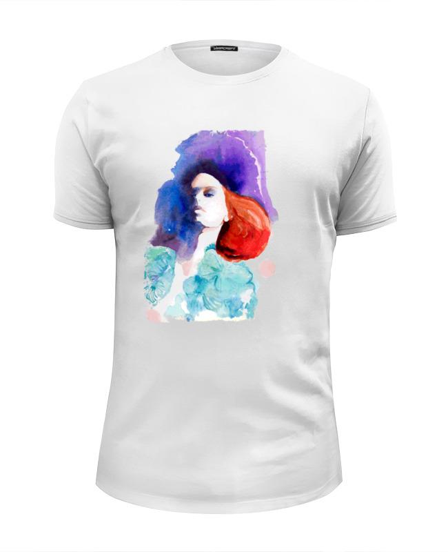 Футболка Wearcraft Premium Slim Fit Printio Girl in colors футболка wearcraft premium slim fit printio face girl