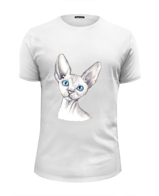 Футболка Wearcraft Premium Slim Fit Printio Cats