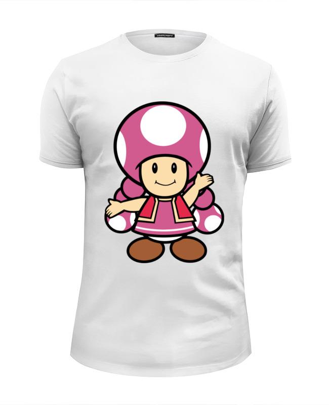 Футболка Wearcraft Premium Slim Fit Printio Toadette (mario) футболка wearcraft premium slim fit printio super mario bros