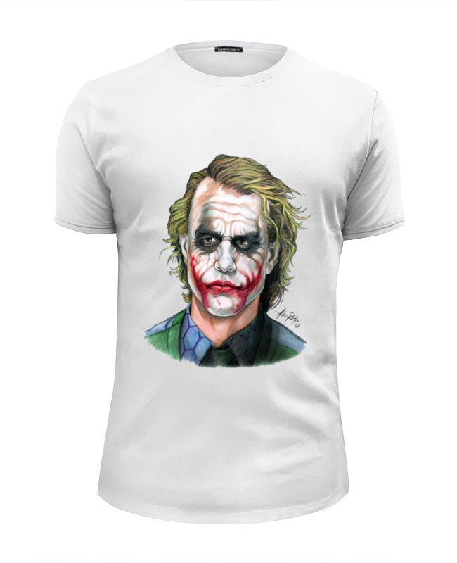 Футболка Wearcraft Premium Slim Fit Printio Joker style