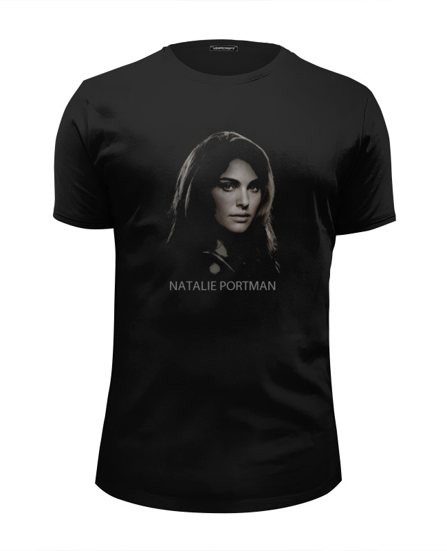 Футболка Wearcraft Premium Slim Fit Printio Натали портман толстовка wearcraft premium унисекс printio натали портман natalie portman