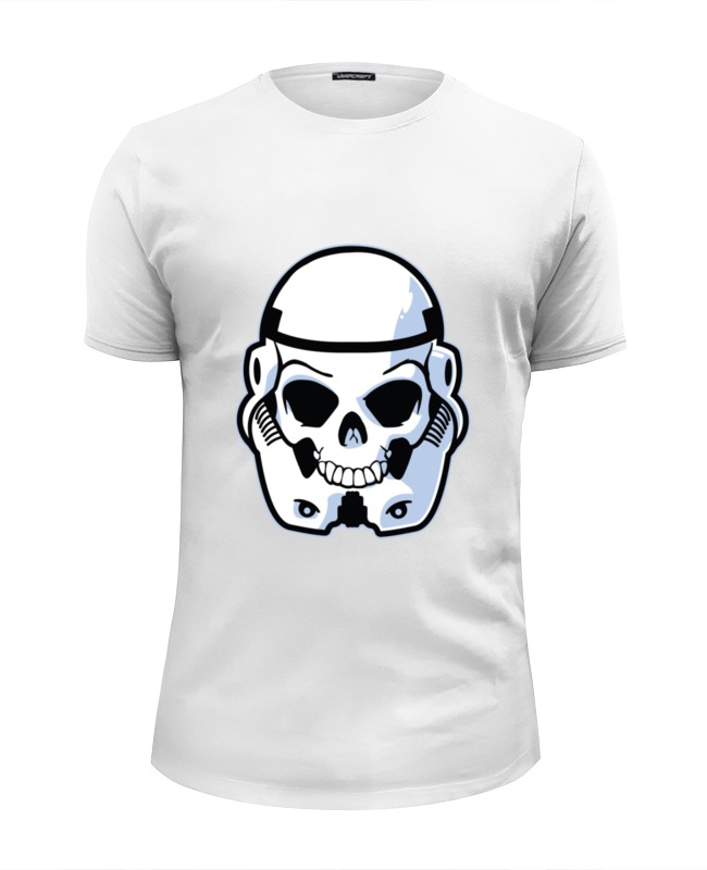 Printio Skull trooper футболка wearcraft premium slim fit printio trooper