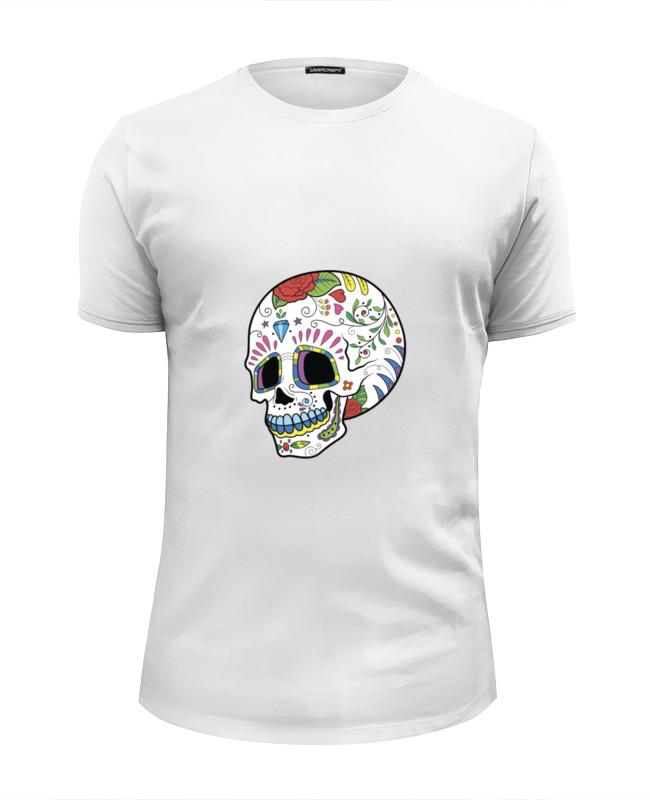 Футболка Wearcraft Premium Slim Fit Printio Skull футболка wearcraft premium slim fit printio low poly skull