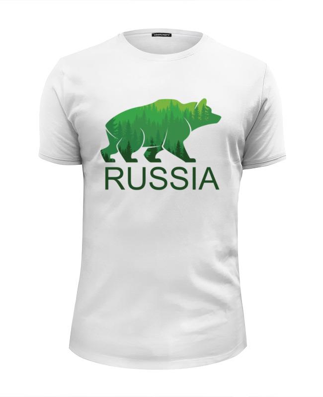Футболка Wearcraft Premium Slim Fit Printio Россия, russia футболка wearcraft premium printio welcome to russia