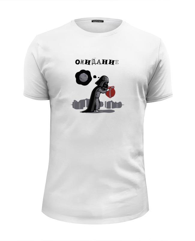 Футболка Wearcraft Premium Slim Fit Printio Star wars - дарт вейдер - ожидание/реальность футболка wearcraft premium slim fit printio star wars дарт вейдер ожидание реальность