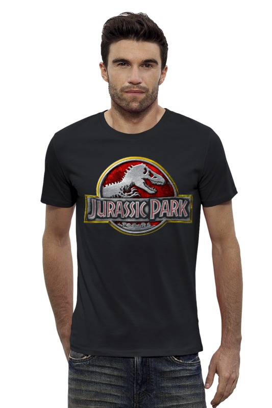 Футболка Wearcraft Premium Slim Fit Printio Jurassic park / парк юрского периода футболка wearcraft premium slim fit printio мир юрского периода