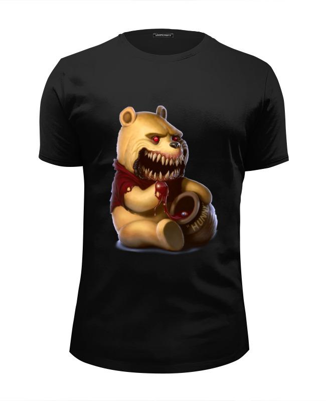 Футболка Wearcraft Premium Slim Fit Printio Zombie the pooh