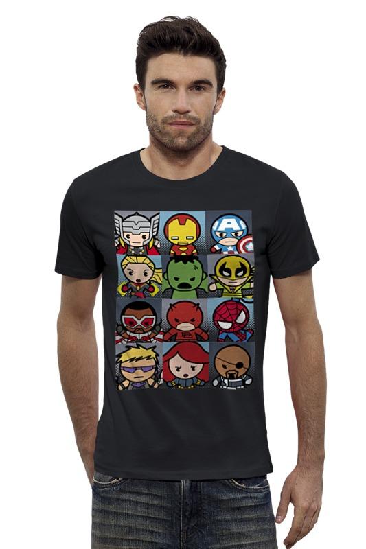 Футболка Wearcraft Premium Slim Fit Printio Супергерои футболка wearcraft premium slim fit printio applejack exclusive