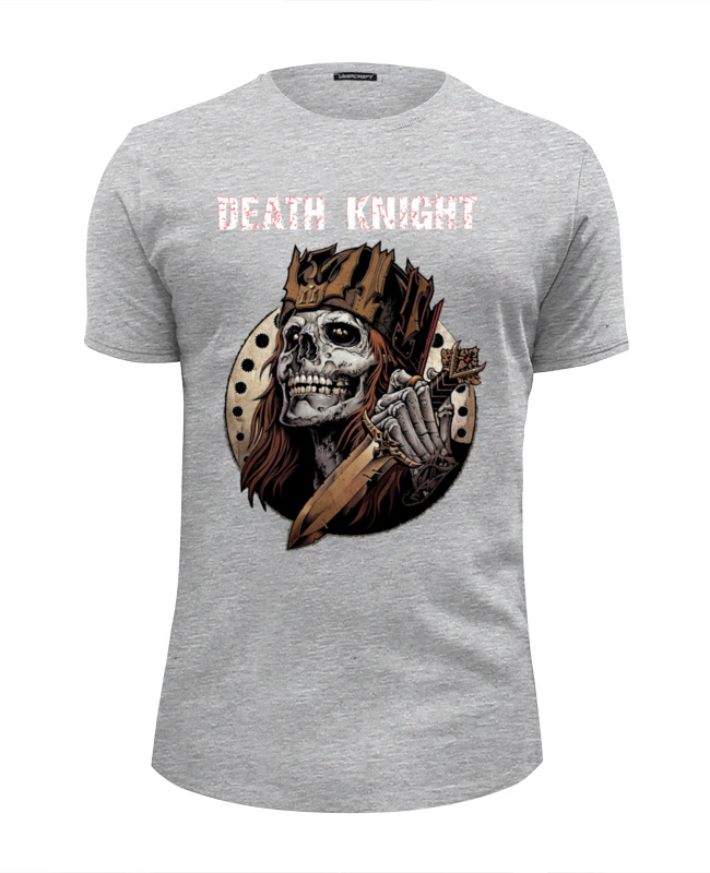 Футболка Wearcraft Premium Slim Fit Printio Death knight футболка wearcraft premium slim fit printio cute like death