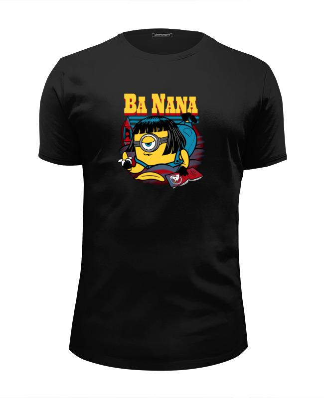 Футболка Wearcraft Premium Slim Fit Printio Banana fiction футболка wearcraft premium printio banana